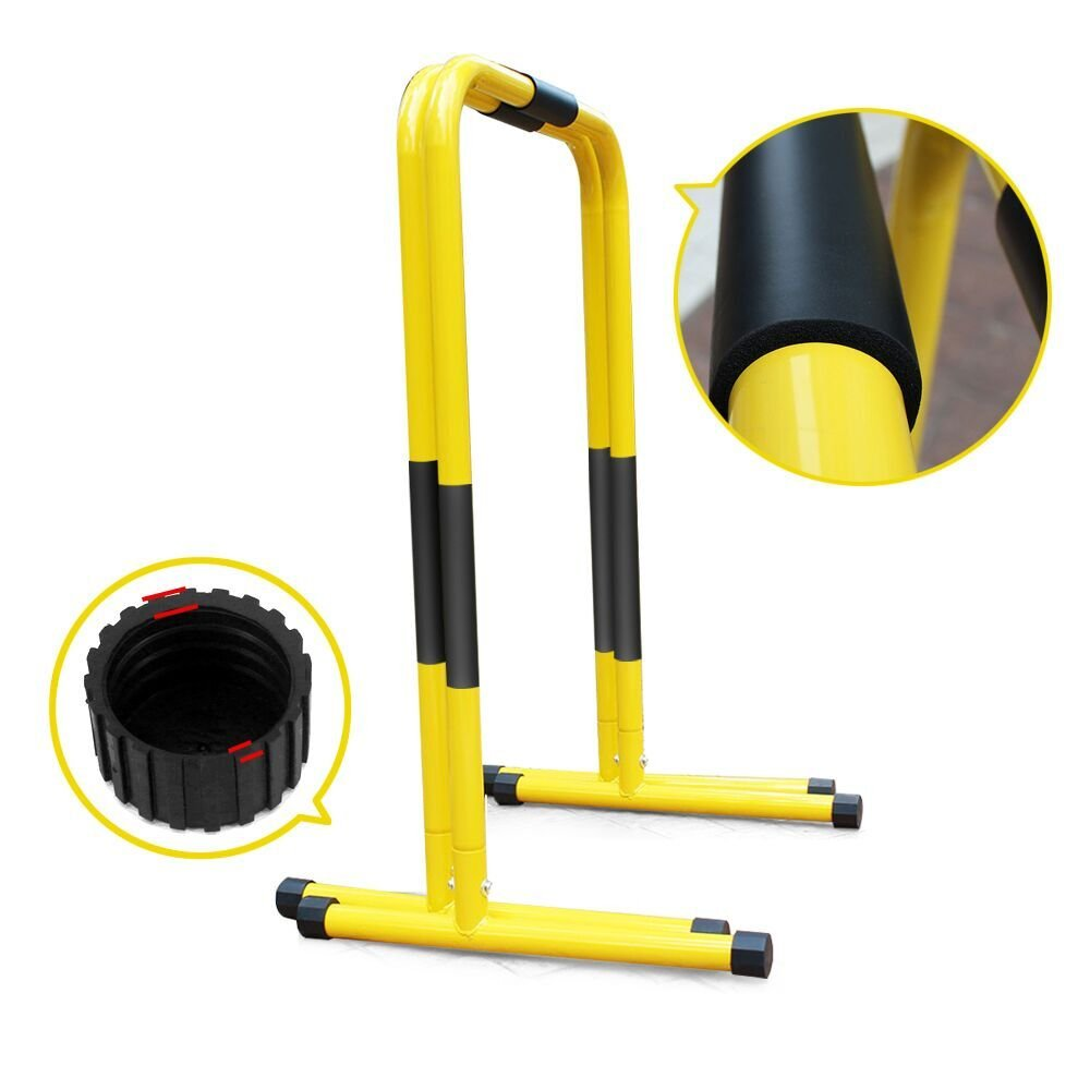 Heavy Duty Functional Fitness Station Stabilizer Dip Bar by Helang
