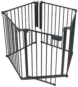 KidCo Auto close Hearth Gate, black, G3100