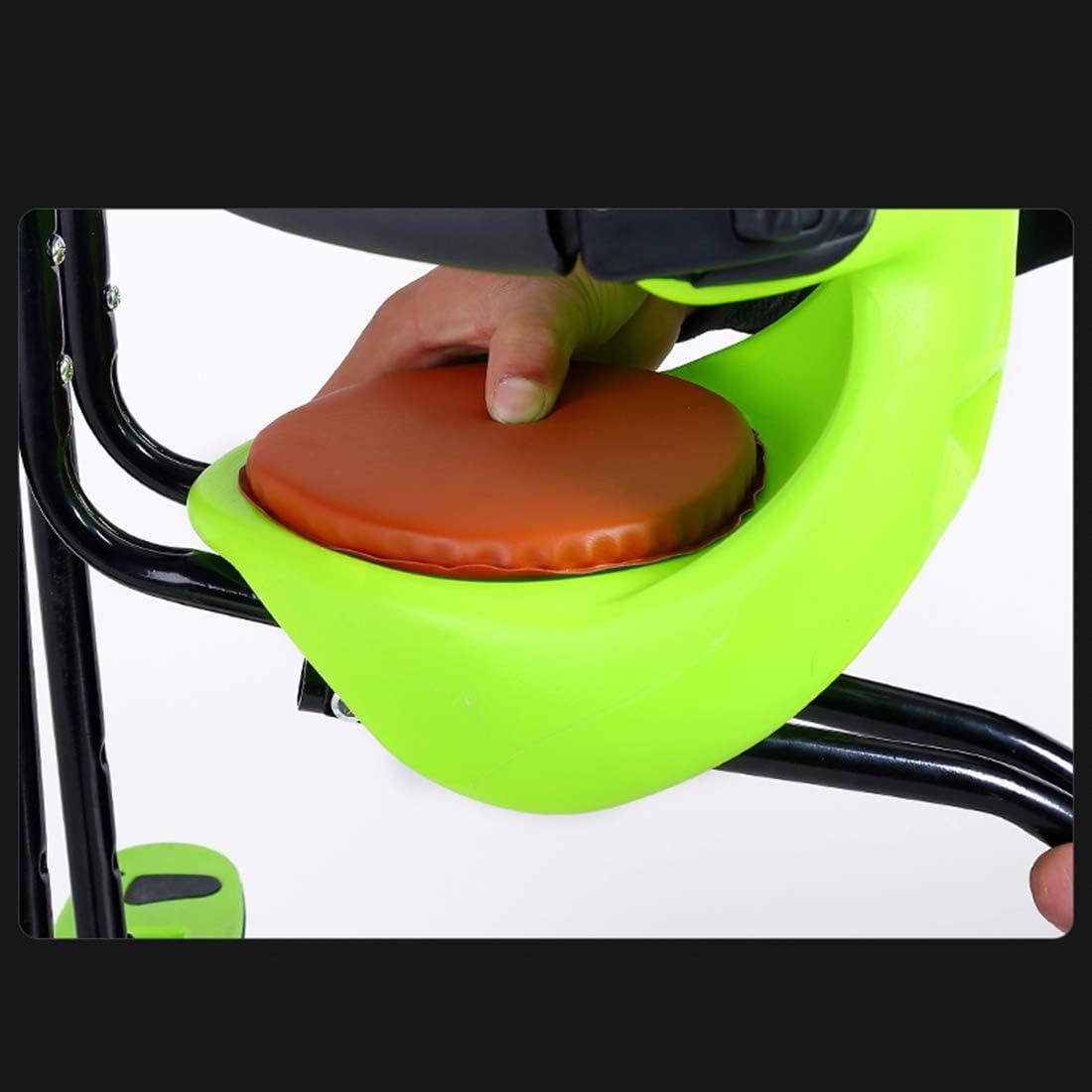 Max 50KG Bici Sedile Seggiolino Anteriore con Recinzione e Schienale per Bici da Corsa MTB MAJOZ0 Seggiolino Bicicletta Anteriore per Bambino
