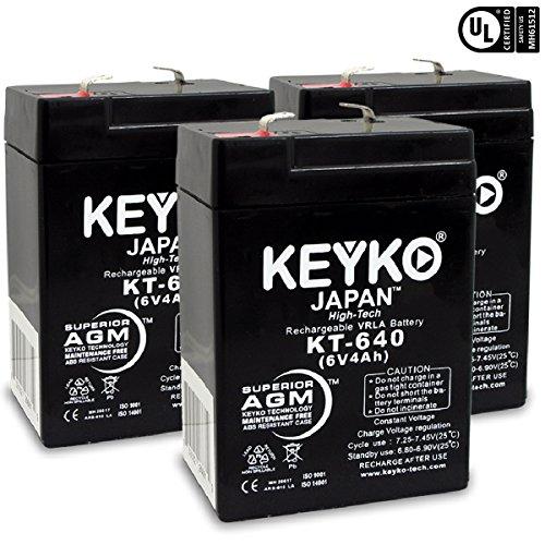 6v 4ah sealed lead acid battery - 2
