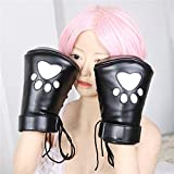 ieasysexy Handcuffs Sponge Filled White Bear Paw Leather Handcuffs Tied Hand Health Products Sex Toys