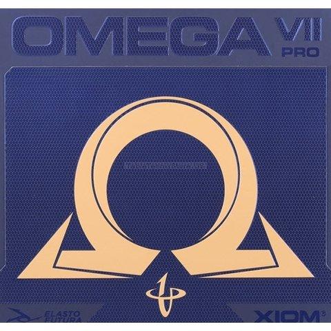 XiomオメガVII 7 Pro – Offensiveテーブルテニスゴム – レッド2.0 MM B07BFFQ8W4