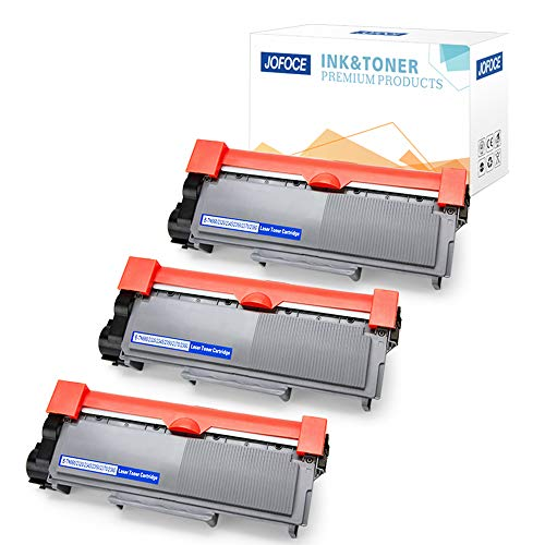 - Jofoce 3 Pack Replacement for Brother TN660 TN-660 TN630 TN-630 Toner Cartridge High Yield, Compatible with Brother HL-L2340DW MFC-L2700DW DCP-L2540DW HL-L2380DW HL-L2300D MFC-L2740DW DCP-L2520DW