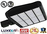 61,000 Lumen LED Parking Lot Lights – 480 Watt LED Parking Lot Light – Super Efficiency 140 Lumen to Watt - 5000K Bright White - Replaces 2000W –Shoebox Light, Sport Court lights, LED Area lighting