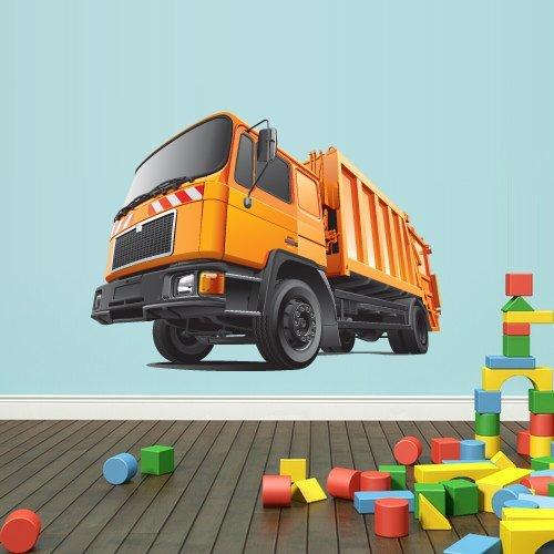 Full Color Wall Vinyl Sticker Decals Decor Art Bedroom Design Mural Kids Nursery Special Tractor Car Garage Truck Forklift Loader (Col268) ()