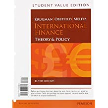International Finance: Theory and Policy, Student Value Edition Plus NEW MyEconLab with Pearson eText (1-semester access) -- Access Card Package (10th Edition)