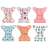 Babygoal Baby Cloth Diapers, Adjustable Reusable