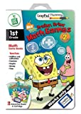 : LeapFrog LeapPad Plus Writing Educational Book: SpongeBob SquarePants - Brainy, Briny Math Games