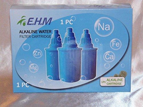 Alkaline Ionizer Water Pitcher Jug Filter Replacement Antioxidants 1 PC Blue by GrandSiri