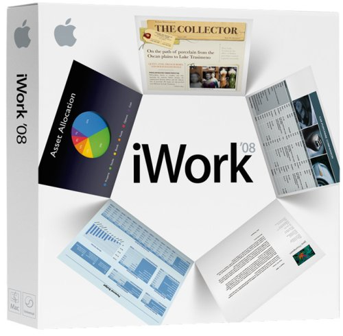 Apple iWork '08 - Old Version (Microsoft Word Buy 2007)