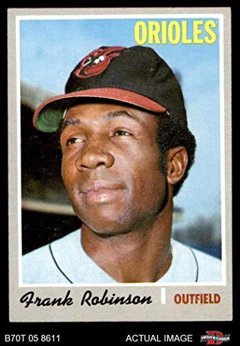 1970 Topps # 700 Frank Robinson Baltimore Orioles (Baseball Card) Dean's Cards 6 - EX/MT Orioles