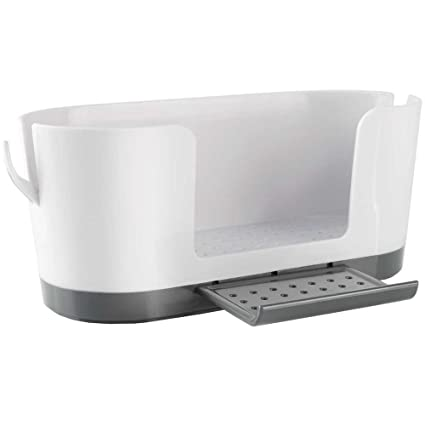 8edb7f6f8d61 Amazon.com: Sink Caddy with Ring Holders: Kitchen & Dining