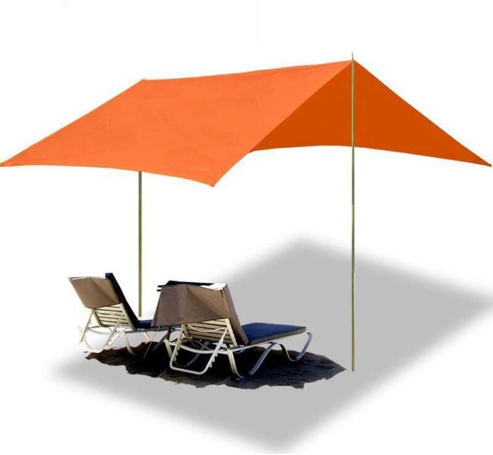 BUYGLI Tent Playa al Aire Libre Toldo Tienda para Acampar Sol Refugio Mirador pérgola Gran Sombra Protección Tiendas de campaña Pabellón: Amazon.es: Deportes y aire libre