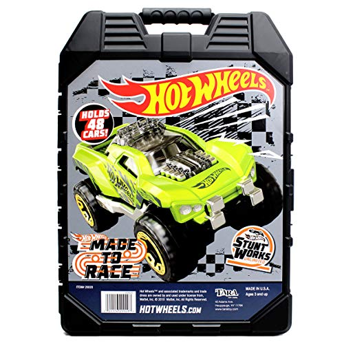 Hot Wheels 48- Car storage Case With Easy Grip Carrying - Toy Carrier Car
