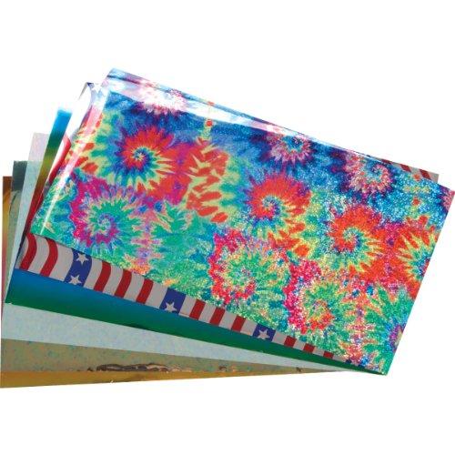 Lisa Pavelka Craft Foil Kit 4.75x8.5 6/Pkg-Celebration