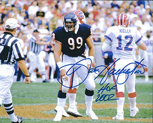 Autographed Dan Hampton 8x10 Chicago Bears Photo