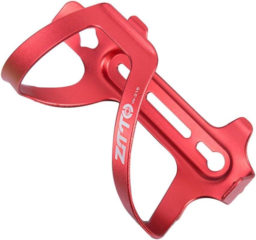 YMYGCC Portabotellas para bicicleta Universal lateral de instalaci/ón sencilla al aire libre de la bici del montaje del sostenedor de botella duro ligero Monta/ña regalo de bicicletas de aleaci/ón de alu