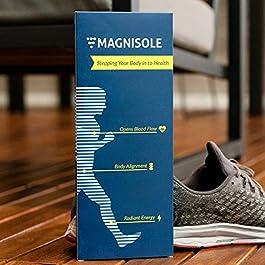 Magnetic Reflexology Insole – Acupressure Massage Inserts – Orthopedic Men & Women Shoe Insoles Plantar Fasciitis Pain…