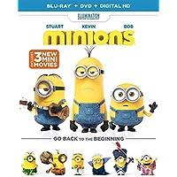 Minions Blu-ray + DVD + Digital Deals