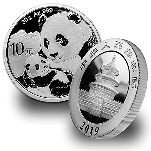 (2019 CN 30 gram Silver Chinese Panda 10 Yuan Brilliant Uncirculated)