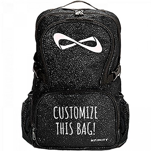 Customize A Glitter Nfinity Bag: Nfinity Sparkle Backpack Bag by Customized Girl