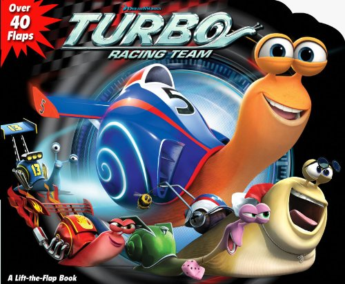 DreamWorks Turbo Racing Team (Lift-the Flap)