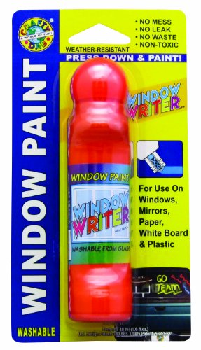 Orange Window Paint (Crafty Dab Window Writer - Orange)