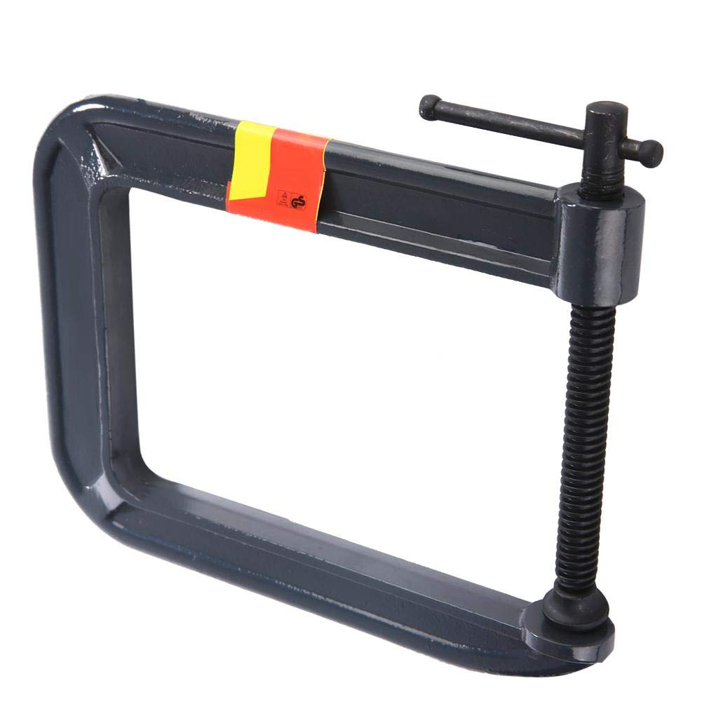 Carpentry Clamp,G-clamp Woodworking Clamp thickness 100mm, depth: 185mm Heavy Duty G-type C-Clamp DIY Carpentry Clamping Device