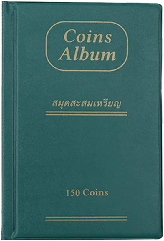 Chirpa New Collecting 150 Pockets World Coin Collection Storage Holder Money Album Book