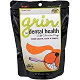In Clover Grin, Daily Dental Care Chews for Dogs, Grain Free Formula for Clean Teeth and Fresh Breath, 4 oz.(25 count)
