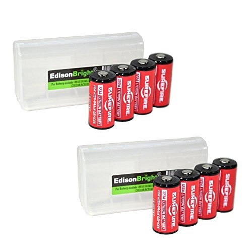 8 Pack SureFire CR123A Lithium Batteries (Made in USA) for sale  Delivered anywhere in USA