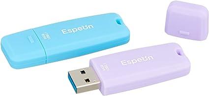 Espeon Pack de 2 Unidades, 64 GB Memoria USB 3.1 Flash Drive ...