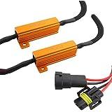 TOMALL H8 H11 LED Resistors Decoder for LED Headlight Conversion Kit
