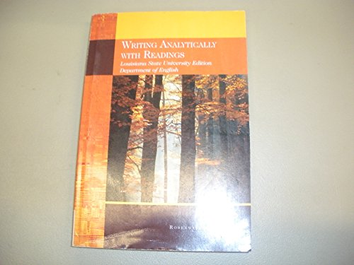 Writing analytically with readings 2008