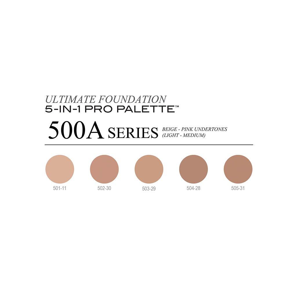 CINEMA SECRETS Ultimate Foundation 5-In-1 Pro Palette 500A Series