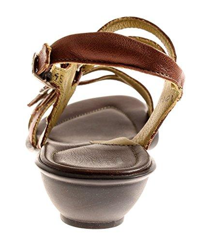 Think! 4-84179 Ledersandalen Damenschuhe Sandalen Schuhe tamtam Espresso