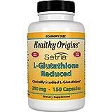 Healthy Origins L-Glutathione (Setria) 250 mg, 150 Capsules