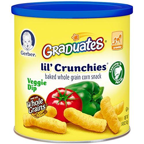 Gerber Graduates Lil' Crunchies - Veggie Dip - 1.48 oz