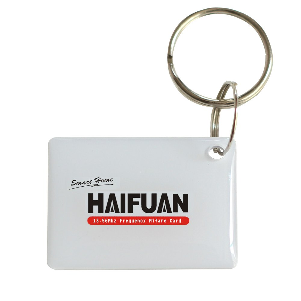 HAIFUAN Mifare Key Chain Cards for HFAS200MF, HFAM10,HFAS100MF, HFA6300D, 4PC SHENZHEN JIANHEWEIYE SMARTCARD TECHNICAL CO. LTD