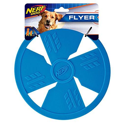 Nerf Dog Small to Medium Blue TPR Flyer Dog Toy