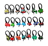Best Hermes Present For Five Year Old Boys - AVIRGO 21 pcs Zip Pull Soft Zipper Pull Review