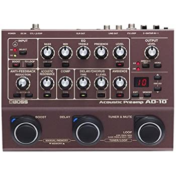 bbe acoustimax acoustic instrument preamp pedal with full featured sonic maximizer. Black Bedroom Furniture Sets. Home Design Ideas