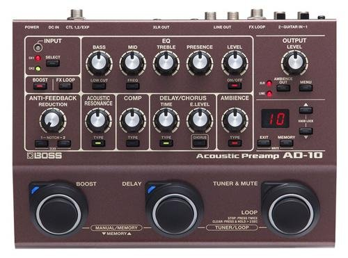 Boss AD-10 Acoustic Preamp by BOSS