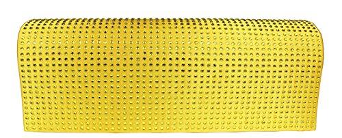 Schöne praktische Abendtasche MQ11433 Yellow