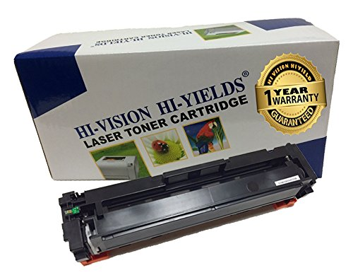 HI-VISION Compatible HP CF410A [410A] Black (2,300 Pages) Laserjet Toner Cartridge Replacement for Color LaserJet Pro M452nw, M452dw, MFP M477fnw, MFP M477fnw, M452dn, MFP M477fdn