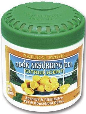 Odor Blaster Odor Absorbing Gel Citrus Scent Plastic Tub 14 Oz by Osmegen Inc