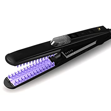 Amazon.com: woolala 3d peine de dientes Plancha de pelo ...