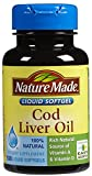 Best Cod Liver Oils - Nature Made Cod Liver Oil Softgels, 100 ct Review