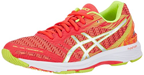 Asics Gel-DS Trainer 22 NC, Zapatillas de Deporte para Mujer Rosa (Diva Pink / Silver / Safety Yellow)