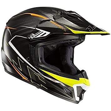 Casco de moto Cross Enduro infantil HJC CL-XY II Blaze MC5 (M)